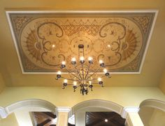 Dining Room Ceiling, Ocoee, Florida by Jeff Huckaby
