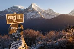 Trekking to the Poon Hill Nepal