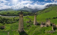 The tower complexes can fascinate with their ancient beauty: you feel like you are in a legend, and if a dragon flies over the mountain ridge, no one will ever wonder. One of the most popular places of Ingushetia is the medieval tower complex of Vovnushki that used to be a watching and defensive construction...