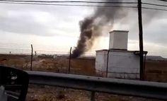 Un avión F-18 del Ejército del Aire, según las primeras informaciones, se ha estrellado esta mañana en las inmediaciones de la base de Torrejón de Ardoz.