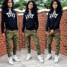a black girl with a hoodie and shorts , , Yahoo Image Search Results