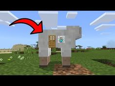 minecraft tutorial how to make a rabbit hutch youtube