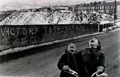 Coal Miners' Strike, Rhonda Valley, Wales, 1985, Marianne Grondahl