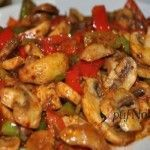Mantar Sote Tarifi – Sebze yemekleri – The Most Practical and Easy Recipes Italian Chicken Dishes, Mushroom Chicken, Baked Chicken Recipes, Kung Pao Chicken, Dessert Recipes, Desserts, Roast, Stuffed Mushrooms, Ethnic Recipes