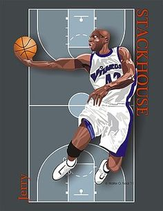 f75916ef9869 Walter Oliver Neal - Jerry Stackhouse Small Forward
