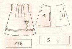 Feito a Mão por Juliana Melo: Moldes de roupas infantis.
