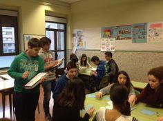 DepLengMaristasOu @MarOuDepLeng 12 hHace 12 horas TUTORÍA 2ºC ESO: aprendemos a cooperar #compostelaenruta #ouenseenruta