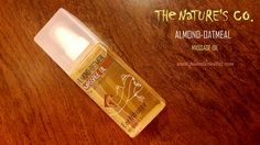 The nature's co. Almond-oatmeal Massage Oil