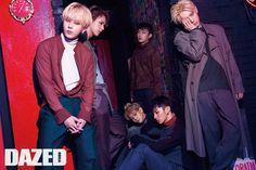 Beast in Dazed and Confused Korea August 2015 Look 1