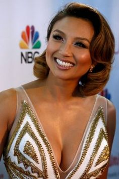 Jeannie Mai's style for the Miss USA 2014 pageant in Baton Rouge, La., channeled classic Hollywood.