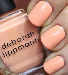 Deborah Lippmann Tip Toe Through The Tulips Spring 2014 Deborah Lippmann Spring 2014   Spring Reveries Swatches & Review