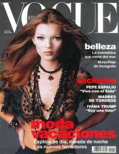 Kate Moss Vogue España May 1993
