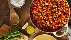 Keep the whole family happy with a hearty, weeknight-friendly chili. McCormick® Chili Seasoning Mix brings warm, mild flavor to the ingredients in this dish. Pro tip: Use leftover chicken to shortcut prep time. Greenbean Casserole Recipe, Casserole Recipes, Chili Seasoning Mix, French Green Beans, Sweet Potato Chili, Thing 1, Green Bean Casserole, Main Dishes, Side Dishes
