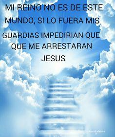 Mi reino no es de este mundo jesus