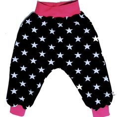 Baggy pants 'Big Stars' pink - Size 50 - 98 cm / Newborn - 3 years
