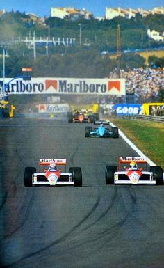 Alain Prost - Ayrton Senna McLaren MP4/4 Honda Portugese Grand Prix -Estoril 1988 PSL - https://www.luxury.guugles.com/alain-prost-ayrton-senna-mclaren-mp44-honda-portugese-grand-prix-estoril-1988-psl/