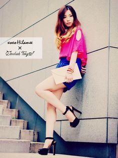 xoxo Hilamee × Devilish Tokyo 2013ss Photoshooting and new in... - xoxo HiLAMEE