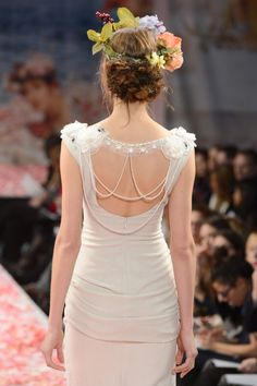 Claire Pettibone 2013 wedding gown - Photo: WWD/Steve Eichner (via BridesMagazine.co.uk)