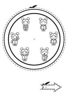Coloring page emotion clock Feelings Activities, Preschool Activities, Mixed Feelings, Feelings And Emotions, Self Concept, Social Emotional Development, Spanish Classroom, Les Sentiments, Kids Church