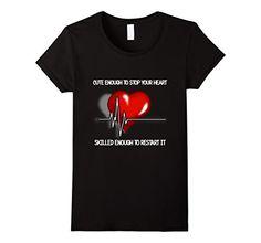 Cute enough to stop your heart... t-shirt - Female Small - Black Jeeves4Tees http://www.amazon.com/dp/B016DEVV2C/ref=cm_sw_r_pi_dp_Re3jwb1C5YBSJ