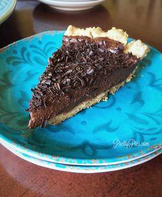 Secret Chocolate Silk Pie {Paleo, Vegan}