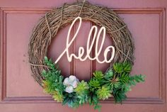 DIY Wreaths, DIY wreaths for front door, diy wreath ideas, diy green wreaths, diy wreath ideas easy