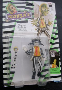 BEETLEJUICE Showtime Action Figure with Rotten by WhiteShepherd, $15.40