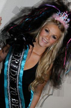 Las Vegas Wedding BACHELORETTE  VEILS  SASHES by LasVegasVeils, $48.00 - lol that would be fun and a little different haha! Bachelorette Party Sash, Bachelorette Party Planning, Great Gatsby Theme, Vegas Outfits, Princess Bridal, Vegas Party, Vegas Style, Bridal Parties, April 26