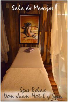 Sala de Masajes Massage room