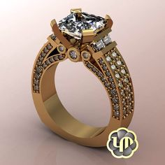 #nofilter #engagementring #yellowgold #round #brilliance #bling #shinny #princesscut #cushion #gold #marriage #love #ido #sayyes #proposal #unique diamonds #custommade