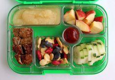 Red and White Preschool Yumbox Lunch