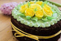 Spring Cake with Gumpaste Roses