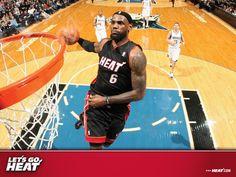 miami heat   ... Miami Heat LeBron James Slam Dunk 1600x1200 DESKTOP NBA / Miami Heat