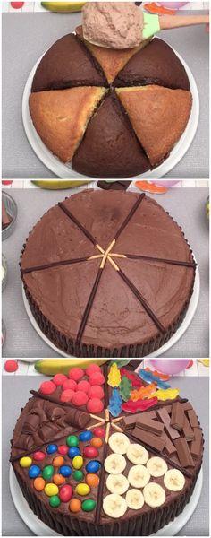 Aprenda a fazer BOLO MIL SABORES… Lindo e delicioso! (veja a receita passo a passo) #bolo #bolomilsabores #bolodelicioso
