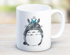 SOLDES Studio Ghibli Totoro joli mug mon voisin Totoro par artRuss