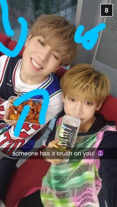 Got7 || BamBam and Yugyeom snap