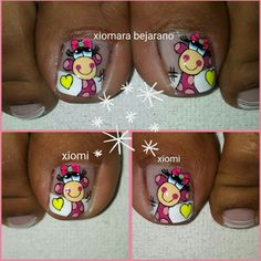 Toe Nail Art, Toe Nails, Mani Pedi, Pedicure, Acrylic Nails At Home, Nail Polish Crafts, Toe Nail Designs, Beauty Nails, Pink