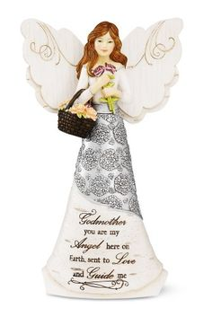 Elements GodMother Angel Figurine by Pavilion, 6-Inch, Holding Basket of Flowers, GodMother You Are My Angel Here on Earth Elements,http://www.amazon.com/dp/B0078SDKWW/ref=cm_sw_r_pi_dp_h85htb17H9CHXQHX
