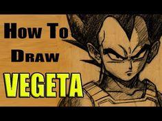 How To Draw Vegeta