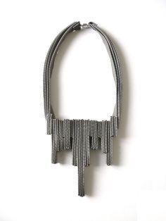 The Eclair Zipper Necklace. $150.00, via Etsy.