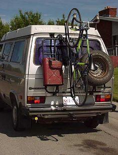 VW Vanagon Bike Rack