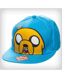 Adventure Time Jake Hiding Finn Snapback Hat