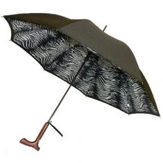 Zebra Print Double Canopy @ www.let-it-rain.com