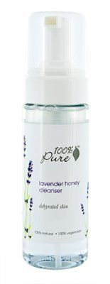 100% Pure 100% Pure Lavender Honey Facial Cleansing Foam by 100% Pure. $18.37. Mild and gentle 100% Pure Lavender Honey Cleansing foam washes away makeup and other impurities while nourishing the skin. Rather than containing harsh detergents that can strip, dehydrate, or irritate, it is a light, Coconut-based cleanser....