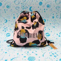 Personalised Pink Leopard Children's Bag – Eleanor Bowmer
