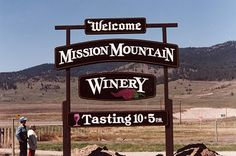Mission Mountain Winery in Dayton, Montana