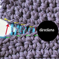 How To Join Crocheted Fabrics With an Invisible Seam Stitch Oombawka Design Crochet ✿⊱╮Teresa Restegui http://www.pinterest.com/teretegui/✿⊱╮