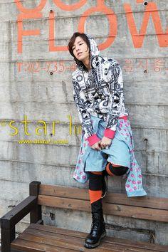 Jang Geun Suk - @Stacy Stone Wilkins Magazine March 2012