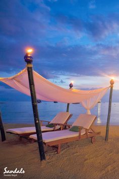 A beautiful spot on the beach from which to enjoy a perfect Caribbean sunset. Sandals Negril in Jamaica is the ideal honeymoon holiday location.