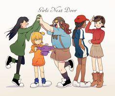 Code Name: Kids Next Door - genderbend